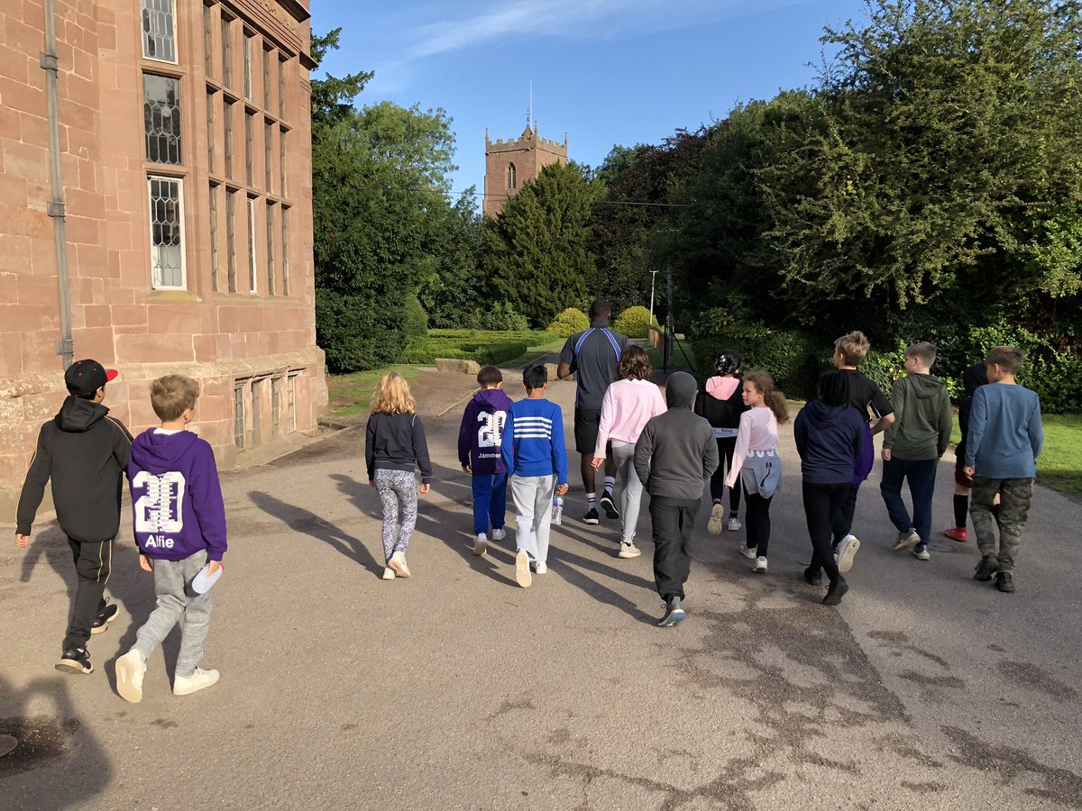 Beautiful and crisp morning for the @EPSResidentials students who are enjoying a couple of days at Condover Hall 🥰 We love the pictures!