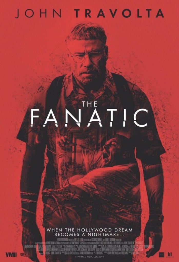 Resultado de imagem para john travolta the fanatic movie poster