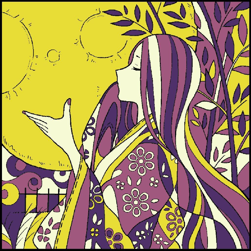 No.154 「かぐや姫」#塗り絵パズル