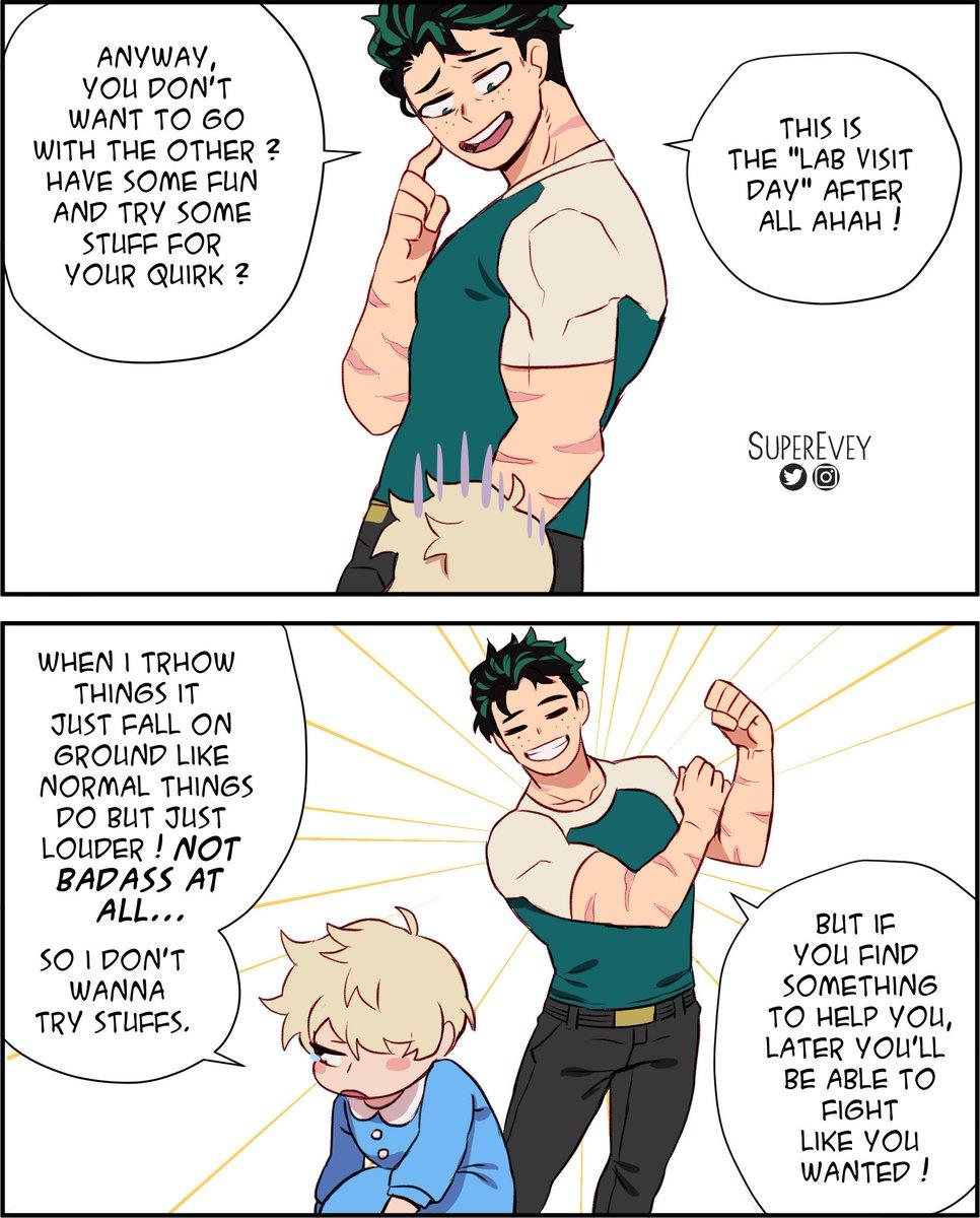 Bnha Comic Strips 2nd Gen