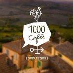 Image for the Tweet beginning: #1000cafés Il faut réintroduire des cafés