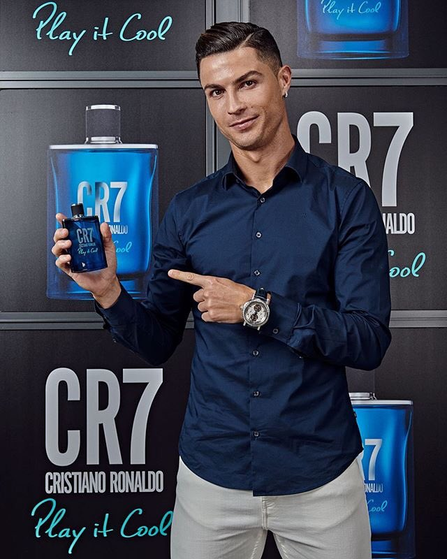 I'm ready to Play It Cool! Are you?😉#CR7PlayItCool