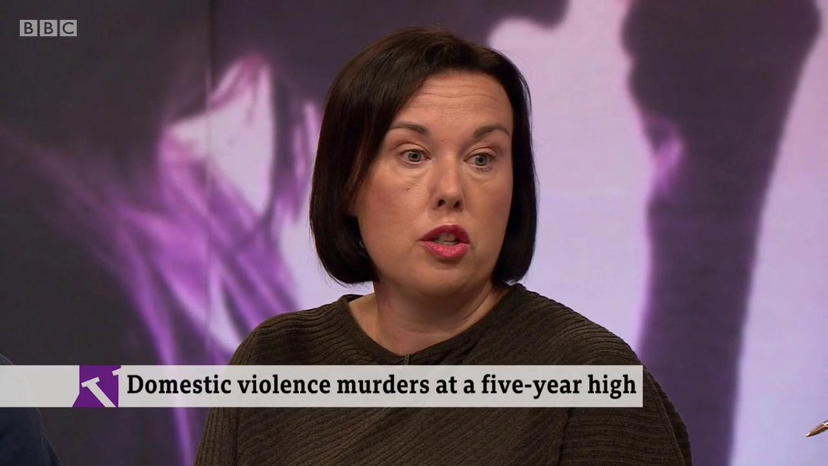 """""""She was made to stand from 6 o'clock in the evening until 6 o'clock in the morning in the corner of the living room and then made to go to school."""" Joanne Beverly whose sister Natalie Hemming was murdered by her partner describes the coercive controlhttps://bbc.in/2lRRVSw"""