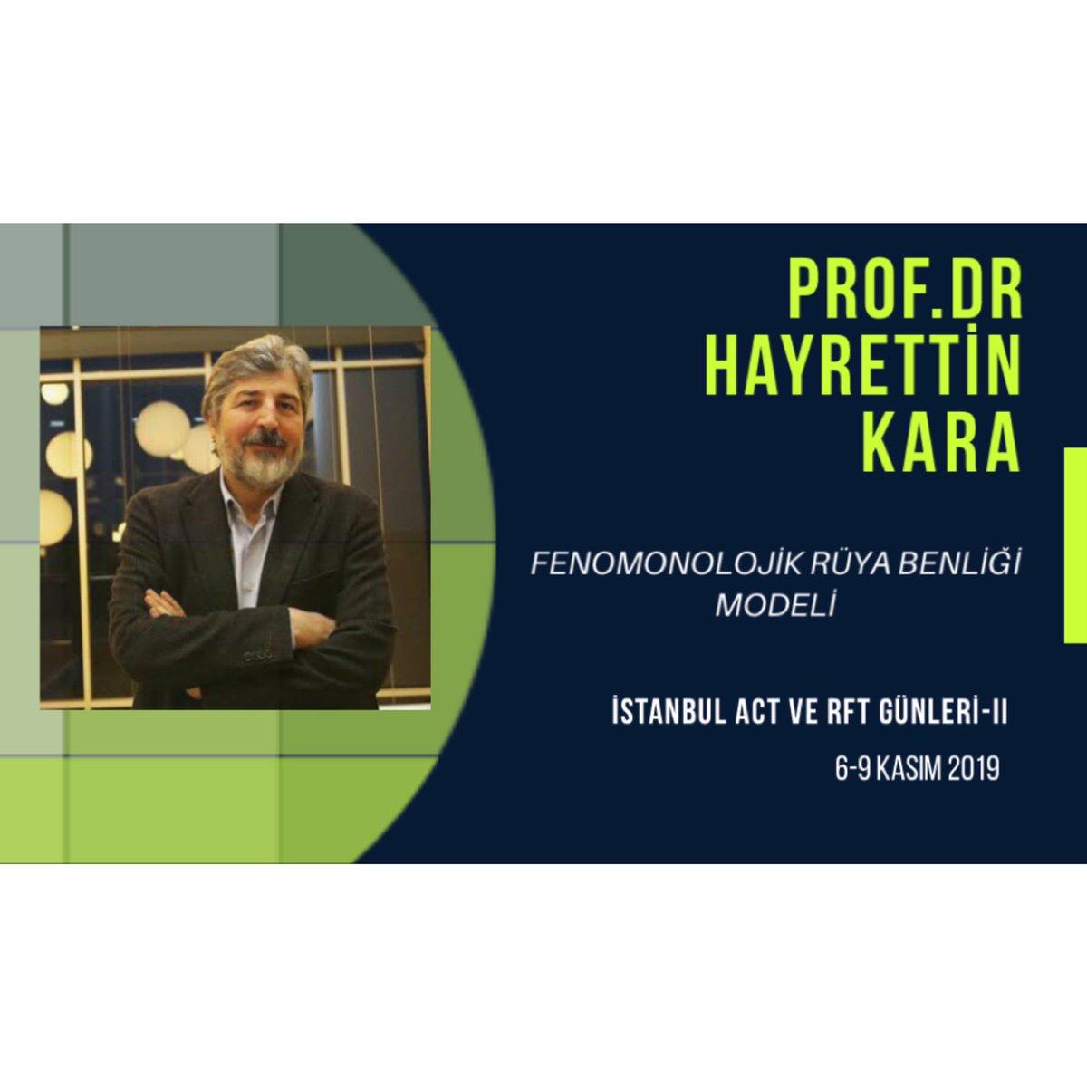 """Prof. Dr. Hayrettin Kara  """"Fenomonolojik Rüya Benliği Modeli""""  adlı çalışma grubuyla bizimle olacak !  Ayrıntılı bilgi için: http://www.actgunleri2019.org #hayrettinkara #rüya #istanbul #acceptanceandcommitmenttherapy #terapi #psikoloji #psikiyatri #bilişseldavranışçıterapi"""