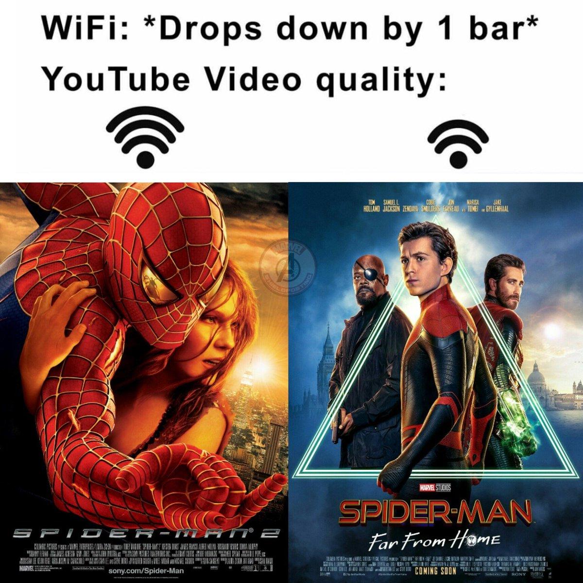 Have at it MCU stans. #spiderman #SpiderManFarFromTheMCU <br>http://pic.twitter.com/fsXXf0mN7T