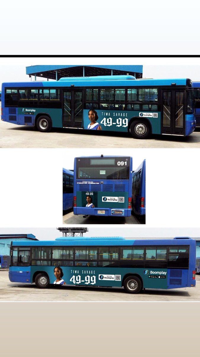 Wow!! You can now ride with me on BRT buses in Lagos. Simply Scan the QR code on the barcode region of my branded buses to get #4999 playing on your phones. #4999inLagos Thank you.<br>http://pic.twitter.com/csWurCYH7B