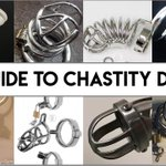 Image for the Tweet beginning: Big Guide To Penis Chastity