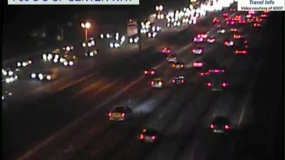 I-85 NB wreck at JImmy Carter Blvd has been cleared. Still slows in the area.   #MorningRushATL <br>http://pic.twitter.com/lqJZyXr89Y