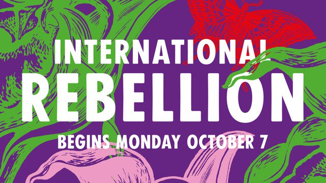 This is a public announcement 📢. @XRebellionUK will shutdown London from 7 October to force their government to #ActNow on the climate and ecological emergency : facebook.com/events/3508628… @XRLondon #InternationalRebellion #WorldwideRebellion #RebelBeyondBorders
