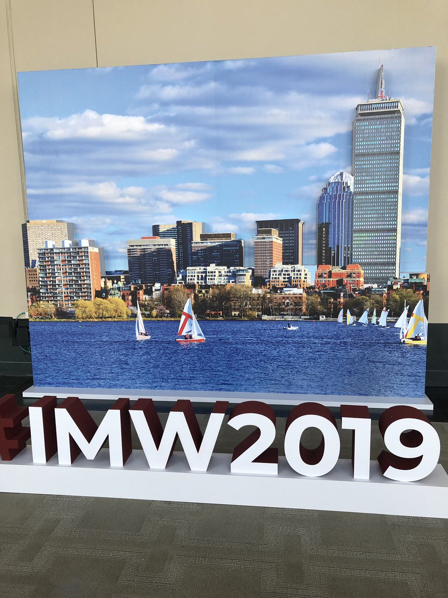 @BU_Amyloidosis ready to start the educational sense on Advances in the management of AL Amyloidosis at #IMW2019