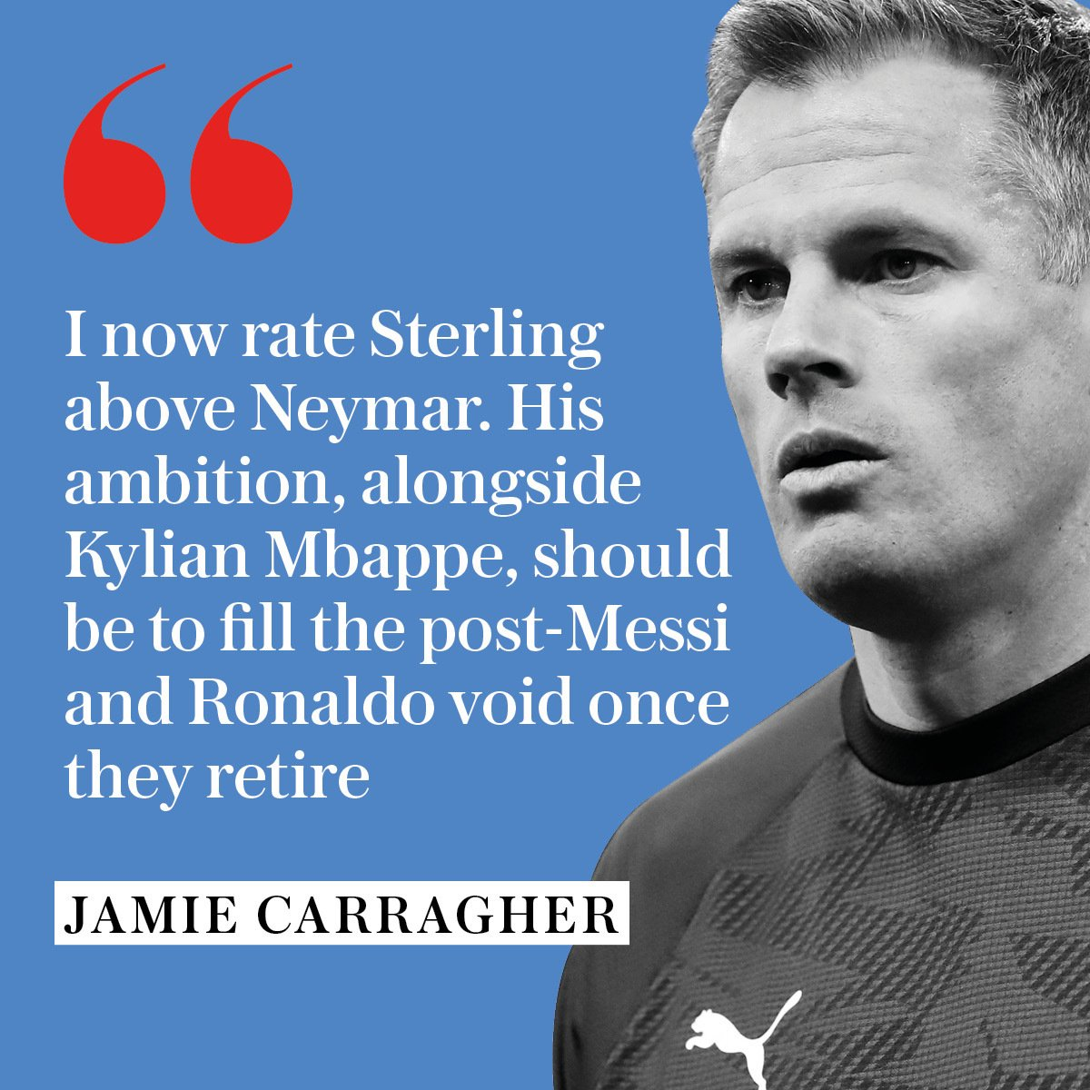 Exclusive @Carra23 column: Raheem Sterling's development reminds me of Cristiano Ronaldo - he can win the Ballon d'Or #MCFC  https://www.telegraph.co.uk/football/2019/09/13/raheem-sterlings-development-reminds-cristiano-ronaldo-can/…