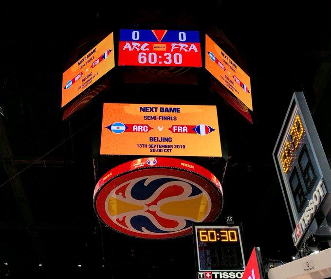 🇪🇸 awaits the winner of @cabboficial v @FRABasketball at 8:00am/et (ESPN2)!   📽 https://t.co/0Z6IvIaB4O 📲 https://t.co/2e4zqRYt9j ✍ https://t.co/d1TUPgFRek… 🎮 http