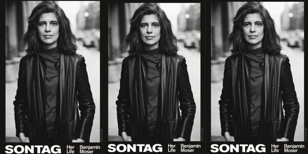 Sontag: Her Life and Work by Benjamin Moser US: https://amzn.to/2NVV8N2  UK: https://amzn.to/2ZVlCpc  #Books #Biography #Sontag #SusanSontag