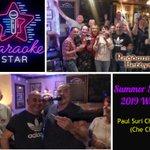 Image for the Tweet beginning: Summer Season #Karaoke Winner Congrats Paul