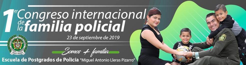 """En el marco del tercer pilar de nuestro @DirectorPolicia, realizaremos el próximo 23 de septiembre el """"Primer Congreso Internacional de la Familia Policial"""". Invitados de Argentina, Ecuador, España y Francia. #PolicíaYFamilia #SomosMásFamilia"""