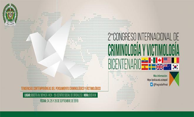 .@PosgradosPonal liderará en la ciudad de Bogotá el II Congreso de #Victimología y #Criminología. Más  información 👉🏻https://n9.cl/t73b ¡Los esperamos!