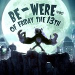 Image for the Tweet beginning: Friday the 13th + full