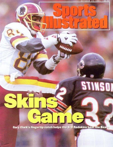 Gary Clark, two-time Super Bowl Champ & two-time Redskins MVP, is on the ballot for the 2020 Class for the PRO FOOTBALL HALL OF FAME! 🏈 Thank you for all your love and support! Learn More & Vote -> profootballhof.com/fanvote/ #httr #nfl #redskins Image: Sports Illustrated