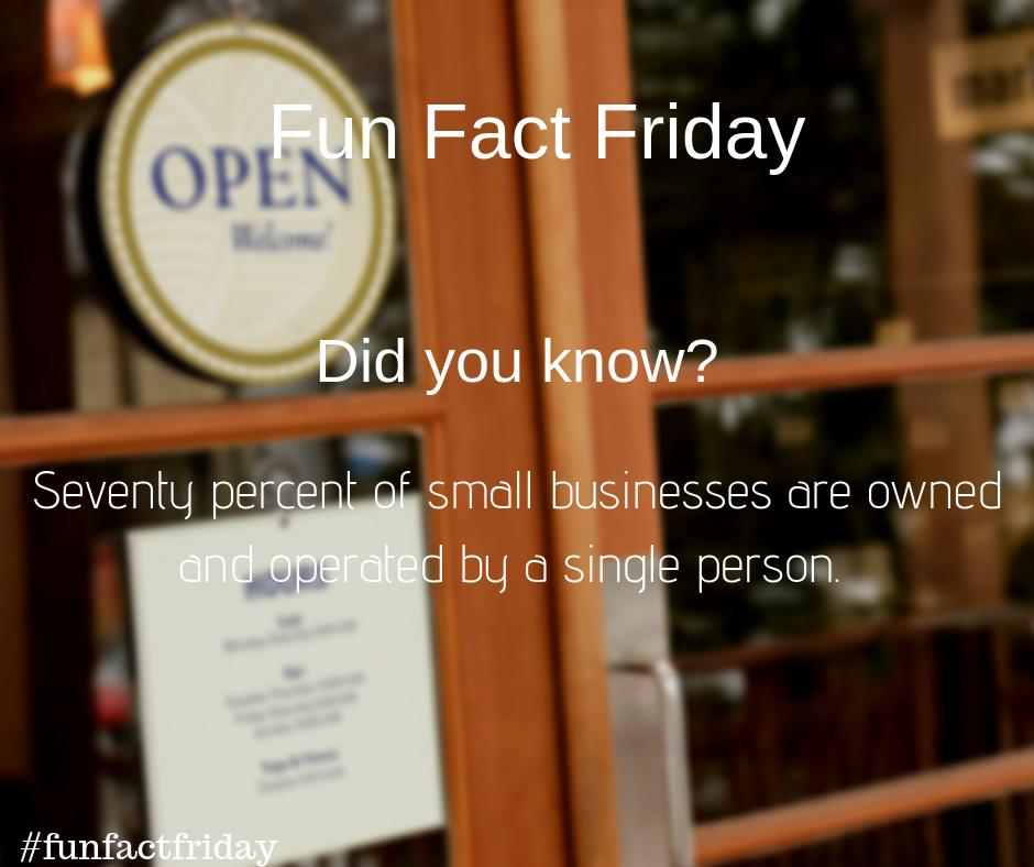 #funfactfriday ! Did you know this about small business?