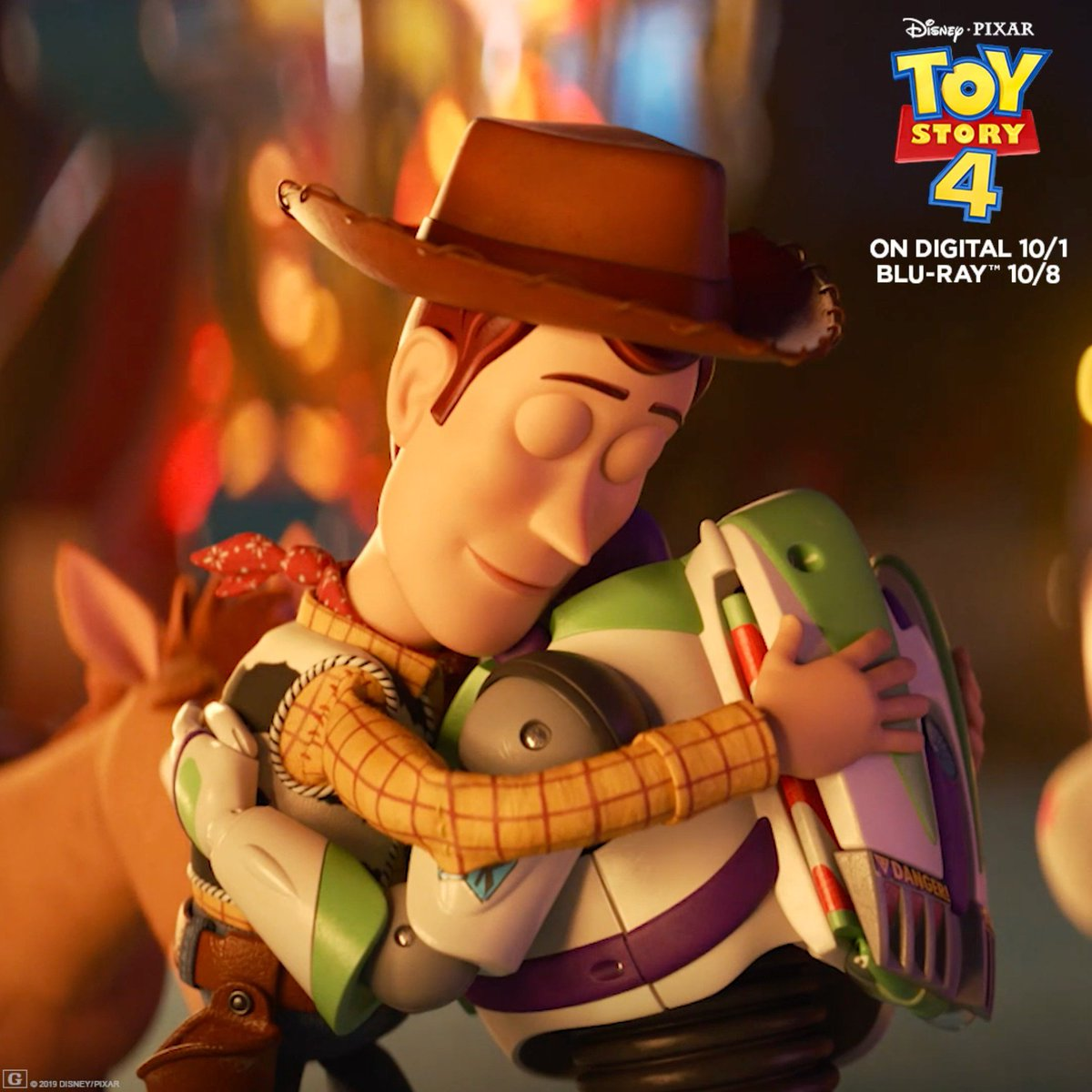 Old friends, new adventures. Join Woody, Buzz, and the gang when you bring home #ToyStory4 on Digital and #MoviesAnywhere 10/1 and Blu-ray 10/8. Pre-order now: http://di.sn/6004E2lWM