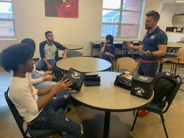 The Langston Health & PE Crew learns about the importance of Dental Health from Dr. Jason Shannon of Tooth Town! <a target='_blank' href='https://t.co/tHFDM9hv4y'>https://t.co/tHFDM9hv4y</a>
