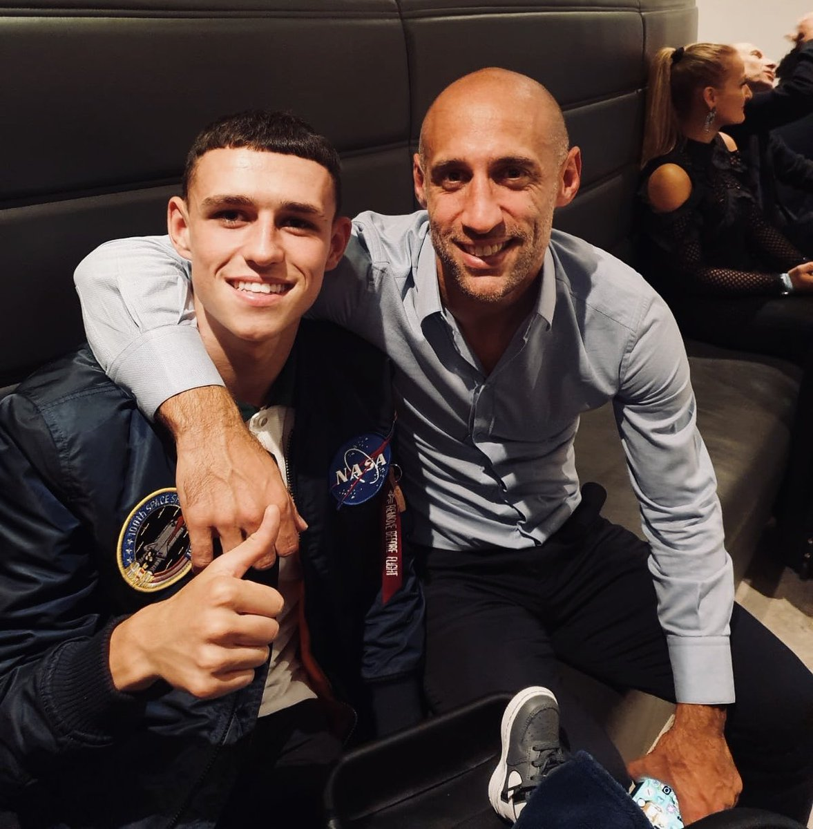 Great to see you the other night @pablo_zabaleta 💙 https://t.co/ibJpbnwR1Z