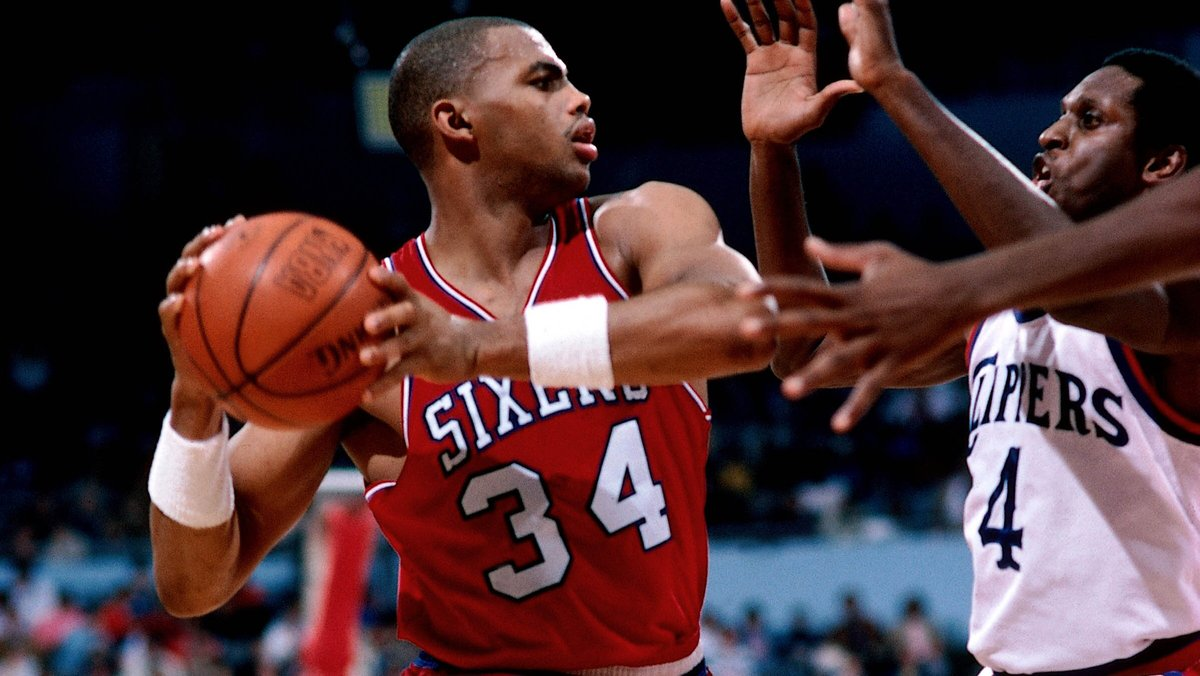 A deserved big day for Sir Charles.   📝@SixersHistory, http://sixe.rs/barkley.
