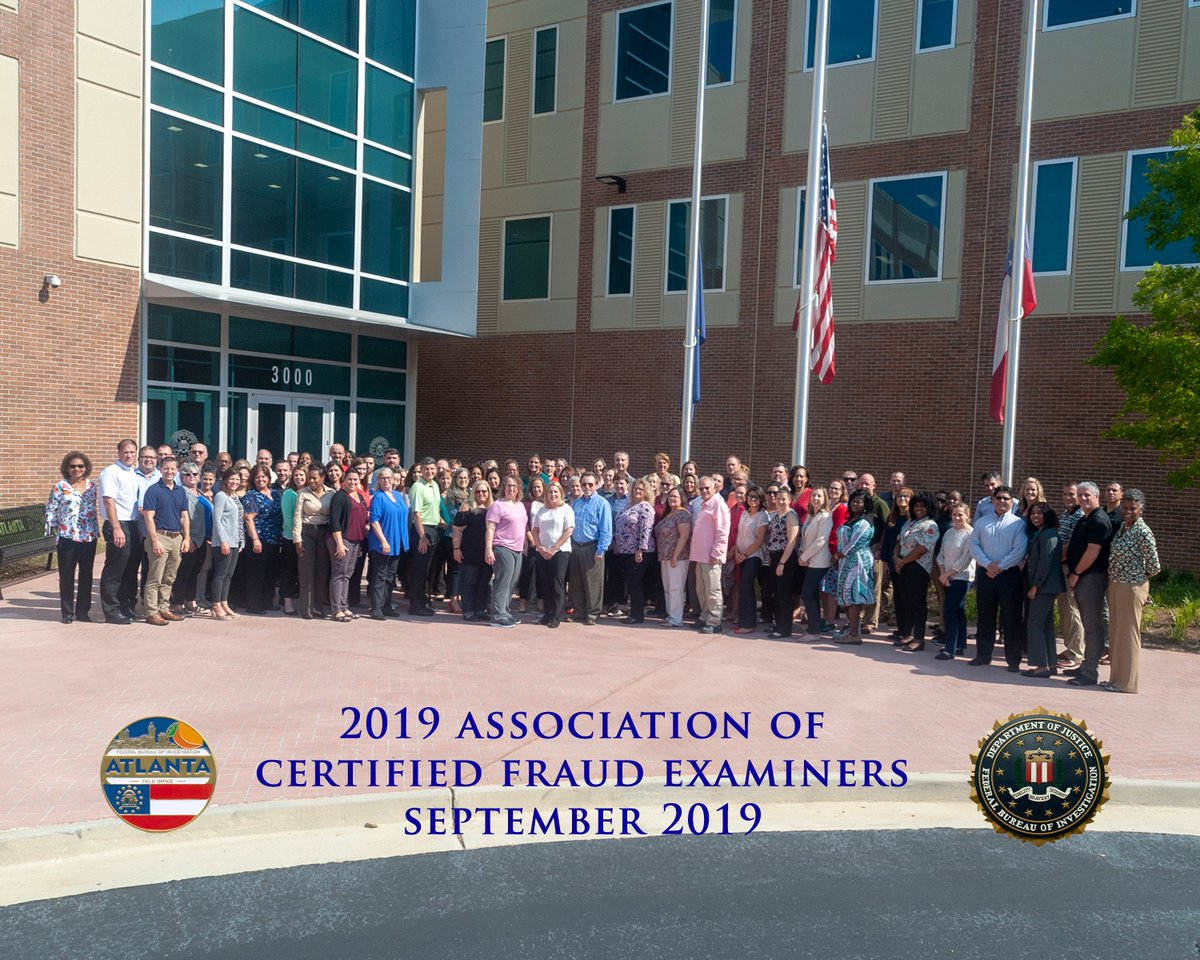 Fbi Atlanta On Twitter Fbi Atlanta Hosted Forensic Accountants From Across The Bureau This Week At The 2019 Association Of Certified Fraud Examiners Conference Learn More About The Fbi S Forensic Accounting Position