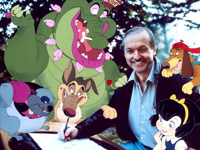 Happy birthday to amazing awesome animator Don Bluth    !