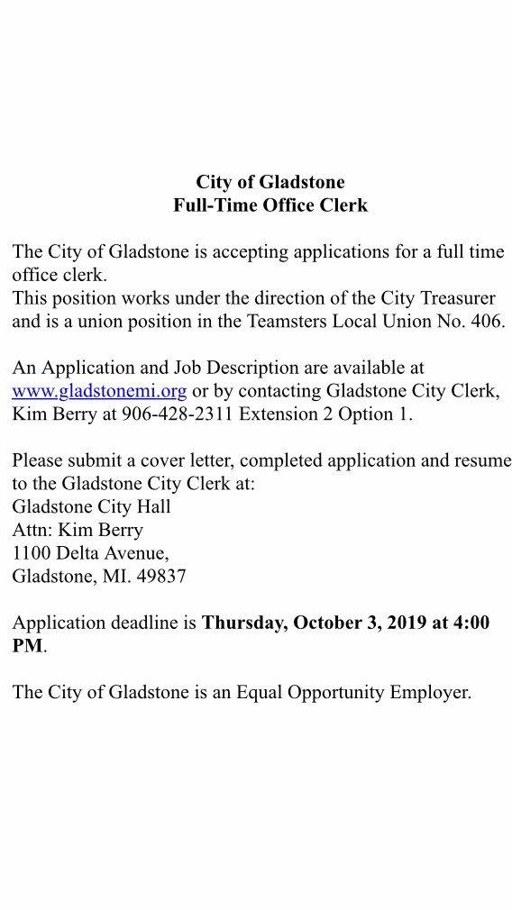 Gladstone Public Safety MI (@GPSD_Michigan)   Twitter