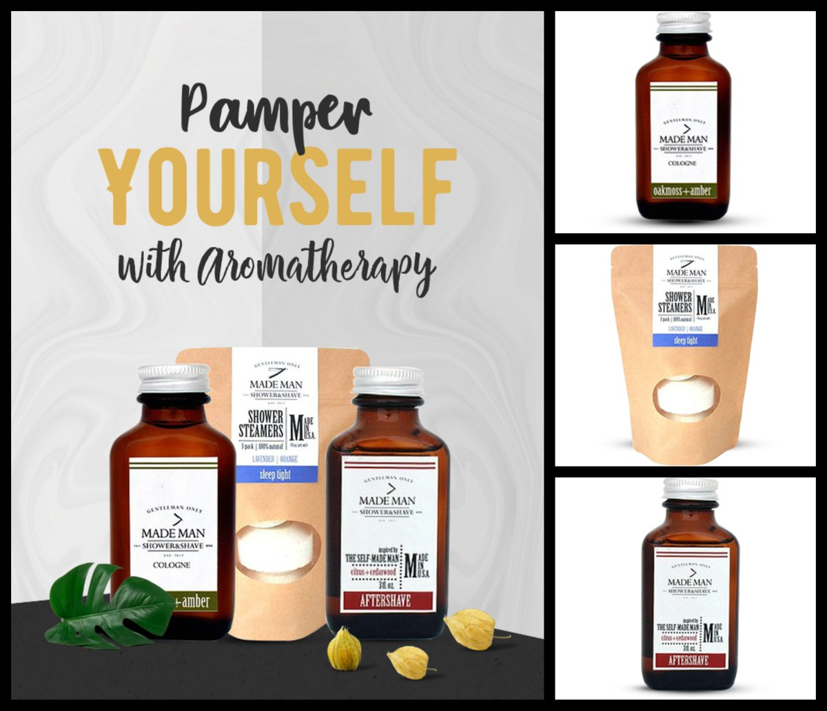 Pamper Yourself with Aromatherapy. Shop Our New Arrival Man-Made Brand.  https://rpst.page.link/jUUy  #menshave #aftersplash #aftershave #soothingsplash #bathbomb #bath #mensgroomingpic.twitter.com/bQBMwKNFv2