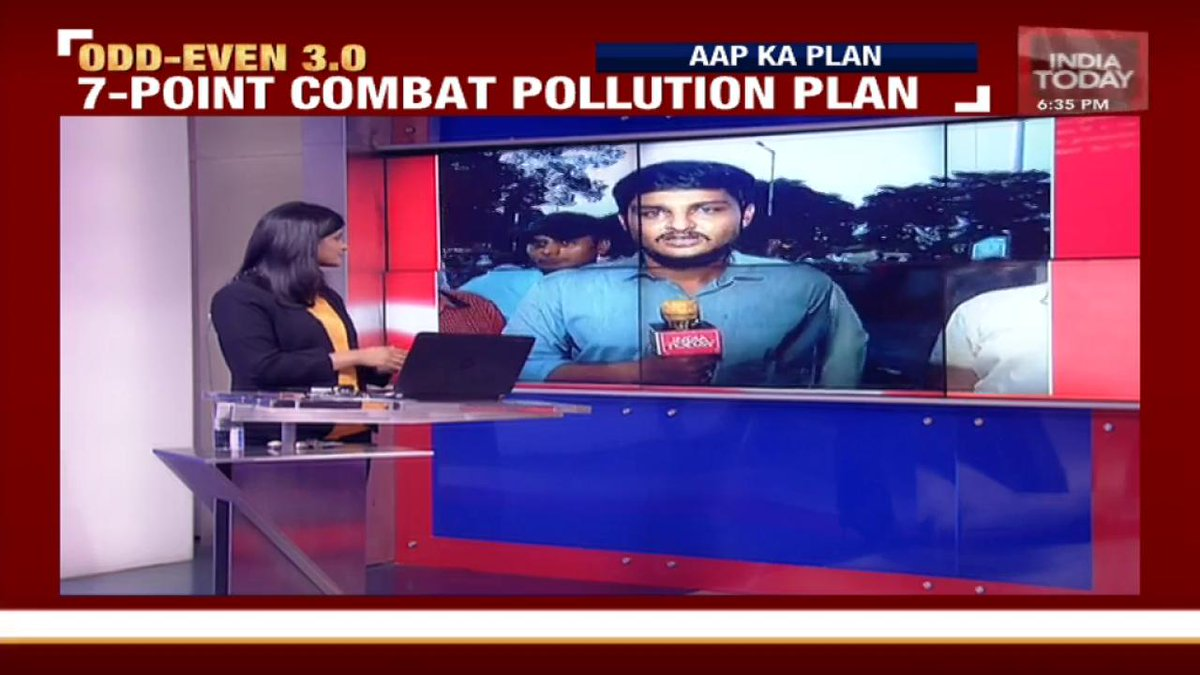 How are Delhiites reacting to the comeback of #OddEven in the capital? India Today's @akash_kolluru and @Isha_Gupta409 report from groundWatch LIVE, with @Akshita_N: http://bit.ly/IT_LiveTV