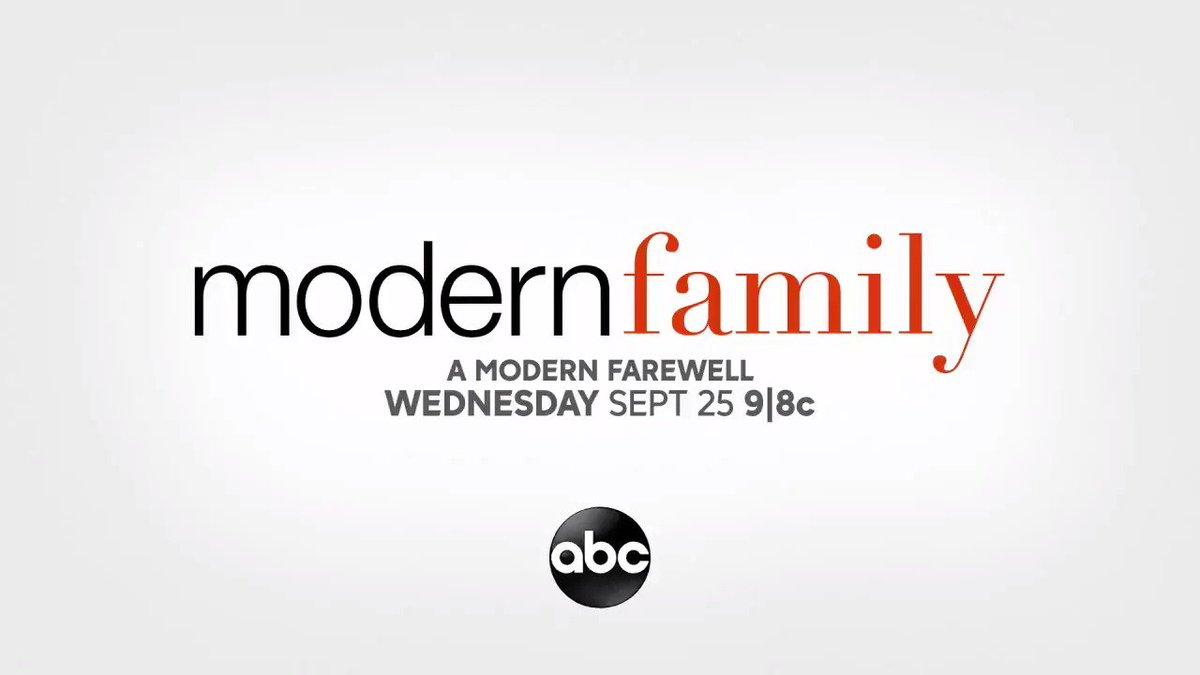 .@ModernFam returns to @abcnetwork for its farewell season on Wednesday, Sept. 25.#ModernFamily