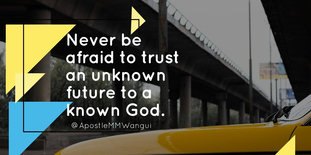 Never be afraid to trust an unknown future to a known God. #FaithFriday #GodIsLove _________________ #FridayFeeling #FearlessFriday #FridayMotivation #FollowFriday #FridayThoughts #FeatureFriday