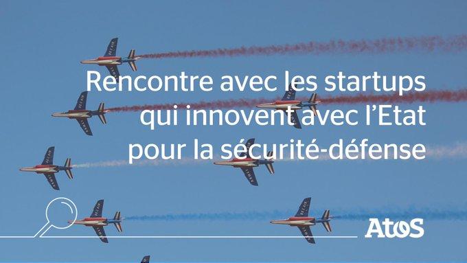 Dans le secteur de la sécurité-défense, #startups, industriels, scientifiques et institutionn...