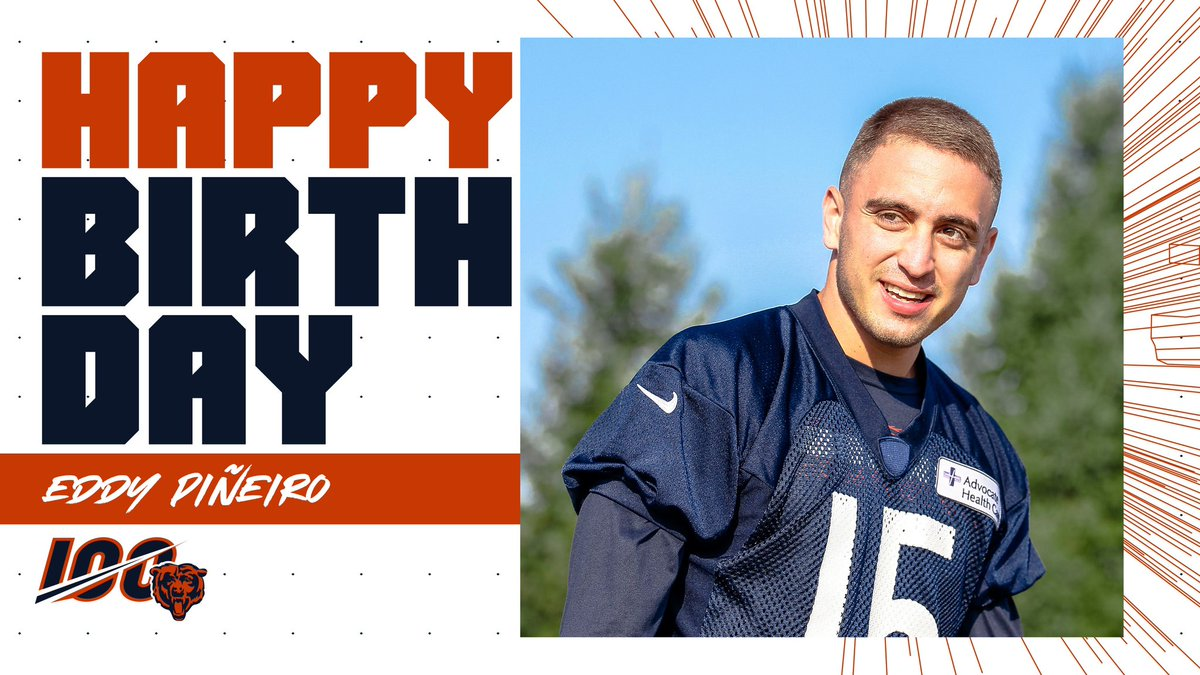 Kicking off the day with a happy birthday to @EddyPineiro! 😄