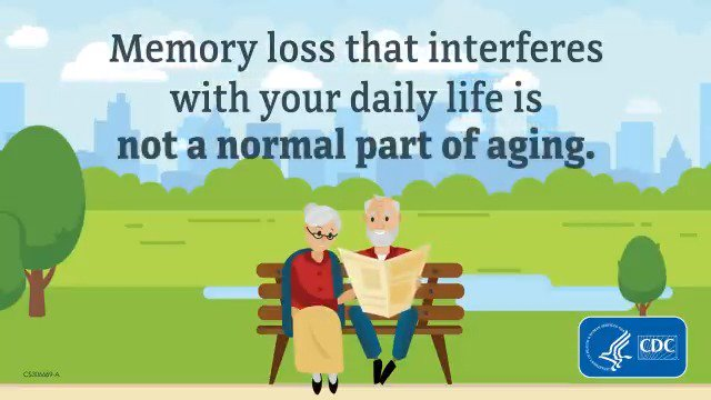 Image for the Tweet beginning: Severe memory loss is not