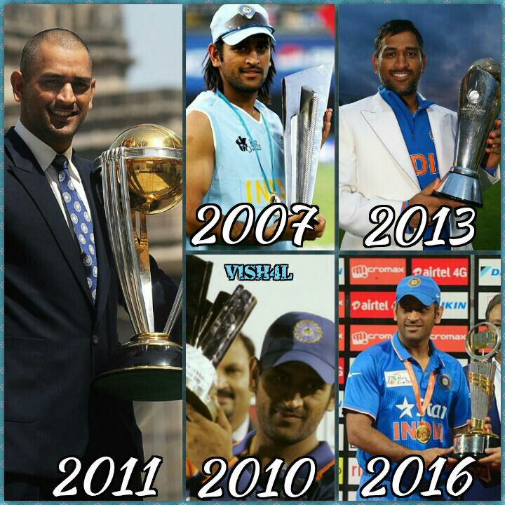 Dhoni Trends On Twitter Captain Dhoni Has Won 8 Tournaments 1 2007 T20 World Cup 2 2010 Ipl 3 2010 Champions League T20 4 2011 Odi World Cup 5 2011 Ipl 6