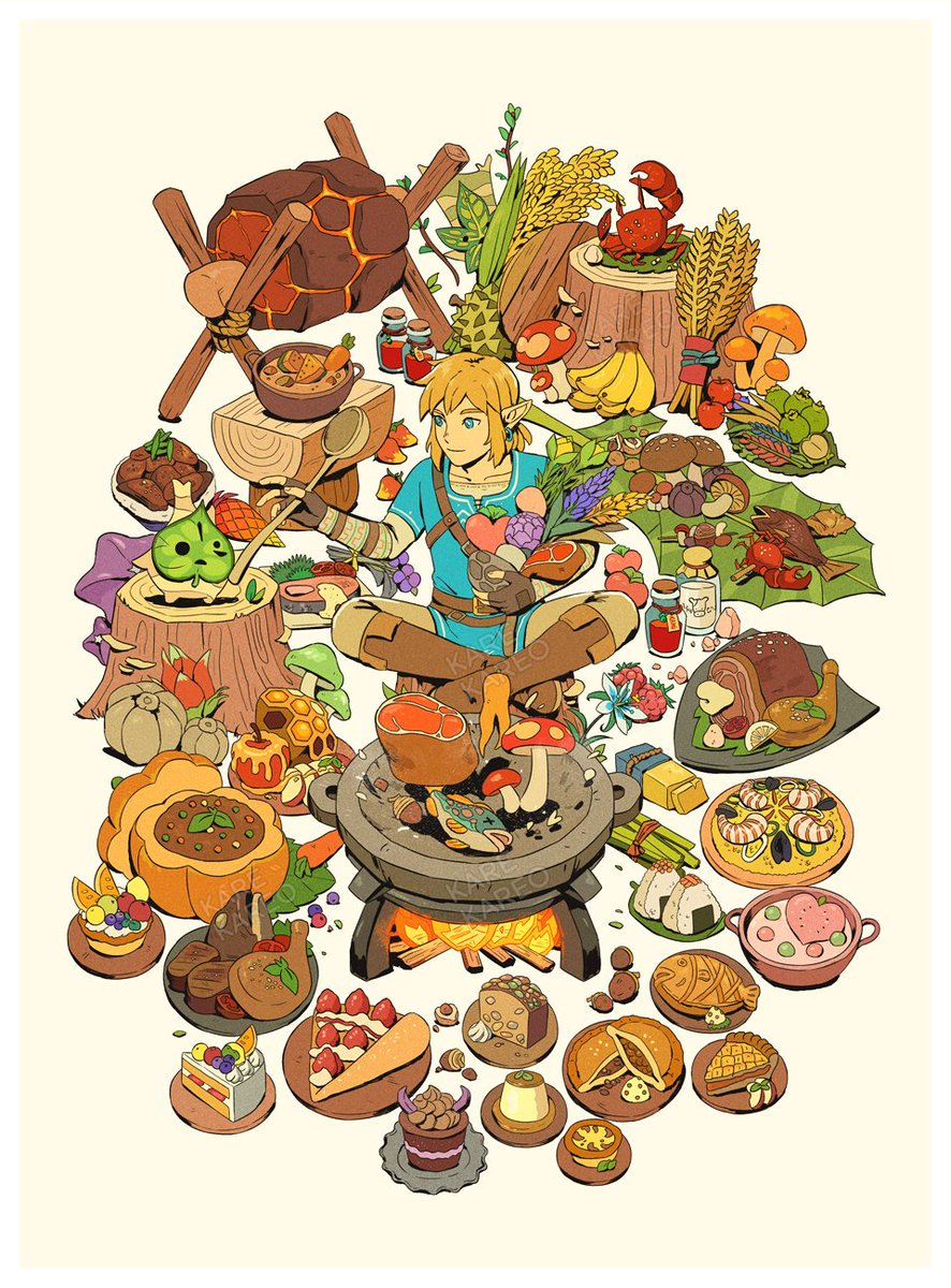 food of the wild  #Botw  #BreathoftheWild  the desserts are some of my favorites what's your favorite botw meal/s? <br>http://pic.twitter.com/mkeYZlUBOd