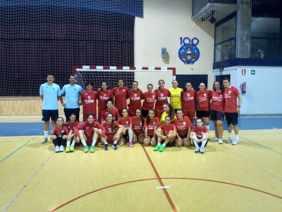 Nuestro cadete femenino hoy han conocido a las jugadoras del CD Leganés FS de 1° Division, un placer tener un equipo de élite en nuestro Municipio