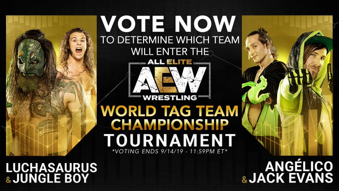 AEW Allowing Fans To Pick The Final AEW World Tag Team Titles Tournament Spot