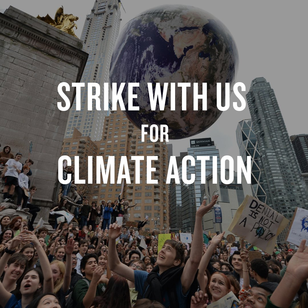 On 9/20, NRDC is following the lead of young climate activists and striking for climate action. Around the world, activists will call on governments to tackle the #climatecrisis with the urgency it deserves. Join the fight and #strikewithus: on.nrdc.org/2kscapR ⚫️