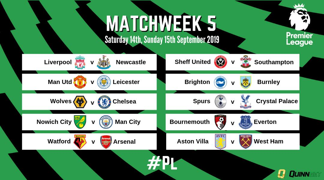 #PLFixtures this weekend.Get Free Spins on @LFC v @NUFC, @SpursOfficial v @CPFC, @afcbournemouth v @Everton, @WatfordFC v @Arsenal, Injury Time Insurance on @NorwichCityFC v @ManCity, D.Odds for brace on @AVFCOfficial v @WestHam!  #PL | T&C's Apply: https://buff.ly/2NdRfAE
