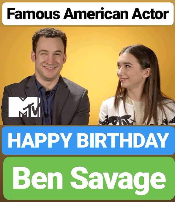 HAPPY BIRTHDAY  Ben Savage