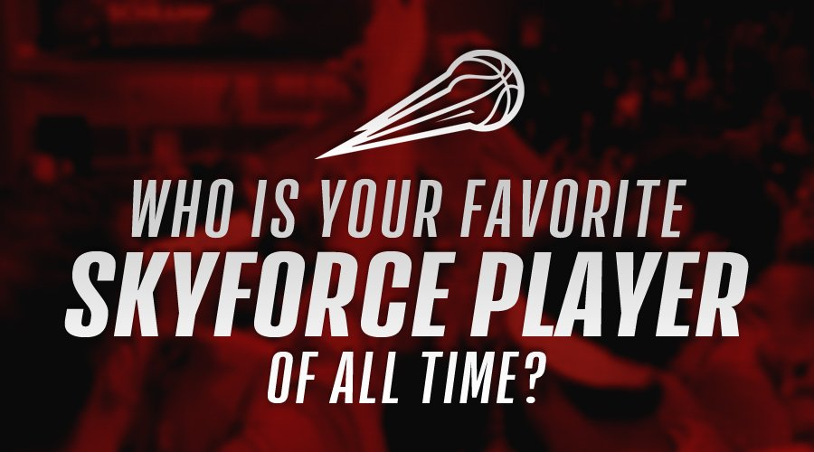 🗣 We need to know, #FORCENATION... who is your favorite player of all time?!   💬 Reply with your answer below for a chance to win some Skyforce swag!