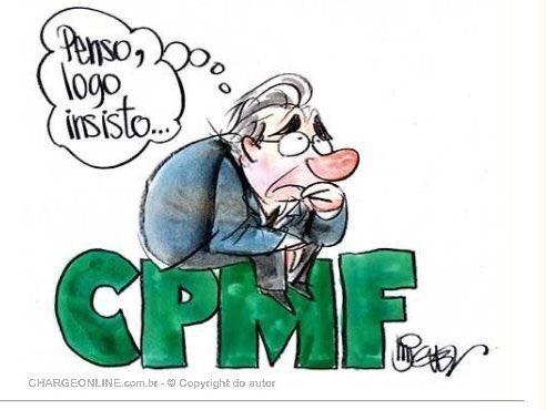 """Alvaro Dias on Twitter: """"O ministro Paulo Guedes ainda não desistiu de  recriar a CPMF. Vocês acham que ele vai conseguir emplacar esse novo  imposto? (Charge de Miguel para o Jornal do"""
