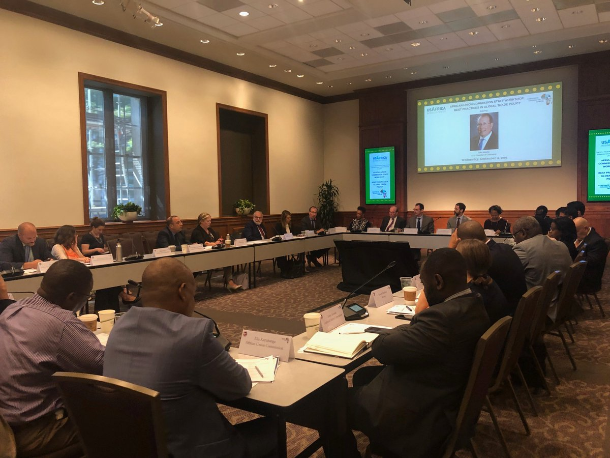 test Twitter Media - We applaud Africa's commitment to building a common market for Africa to bolster U.S.-Africa trade and investment. Proud to partner with @CorpCnclAfrica to host the African Union Commission for a workshop on best practices in global trade. #AfCFTA #ProsperAfrica #FreeTrade https://t.co/5YrolVOyKf