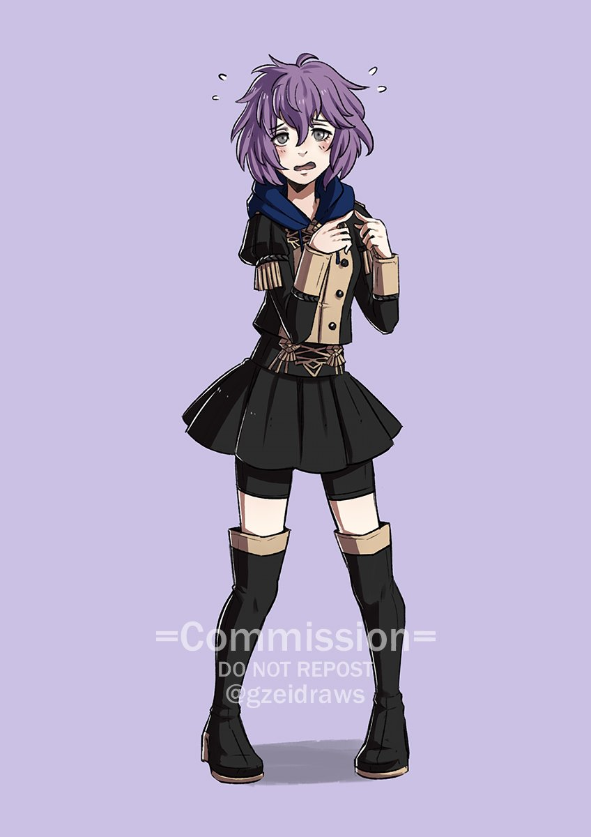 Bernadetta for 𝗚𝗹𝘂𝗰𝗶𝗳𝗲𝗿 ! #FE3H  *Please don't repost unless you're the client* https://t.co/vF5GnUooDF