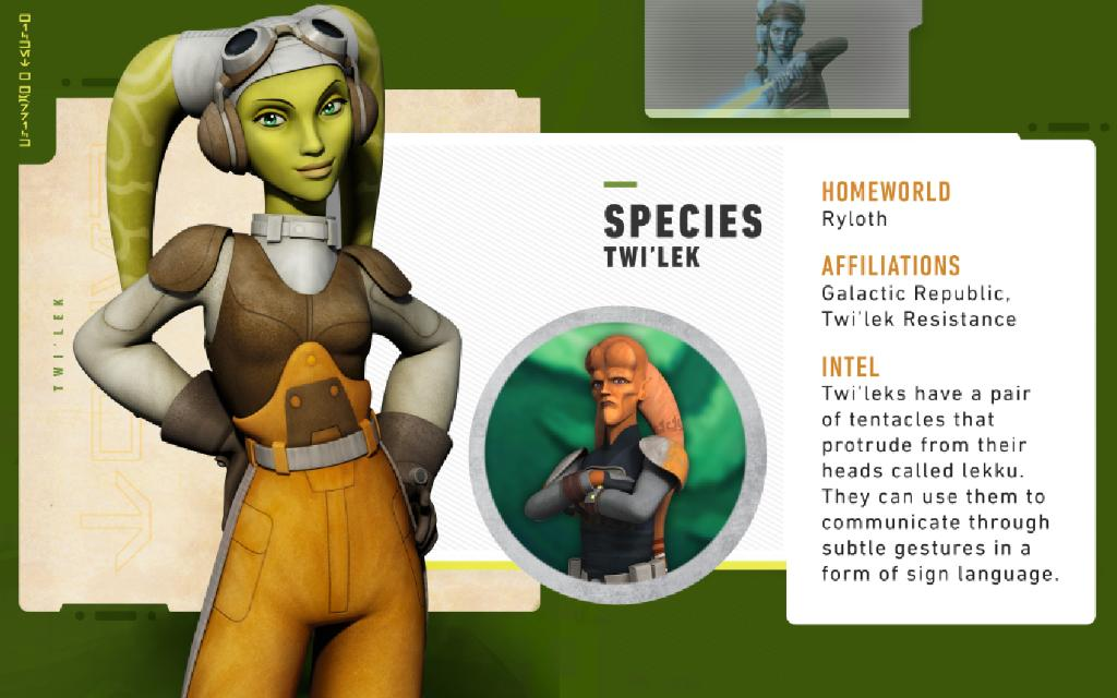 The citizens of Ryloth were loyal members of the Galactic Republic. When the Empire took control, the Twileks suffered greatly under their tyrannic rule. This led many of them, like Hera Syndulla, to be among the first to join the Rebellion. #StarWars101