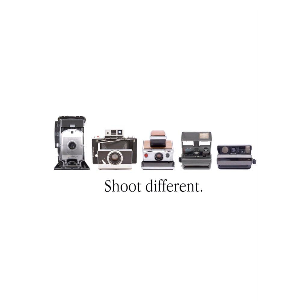SHOOT DIFFERENT! • PolaroidsOfPeople.com
